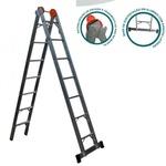 Escada de Alumínio 12 Degraus 4,15x6,85m Ágata Extensiva - ENE 012