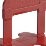 Espaçador Nivelador Eco Porcelanato 1,5mm Cortag Caixa 500 peças
