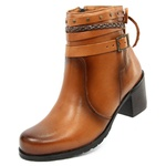 BOTA CANO CURTO DEGRIFFE - 9010- WHISKY