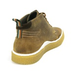 Bota casual masculina Polo-city 611 Mostarda