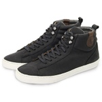 Bota casual masculina Polo-city 633 Preto