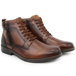 Bota Masculina Urbana Casual Polo city Boxer Whisky 054