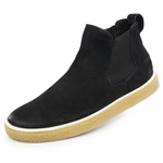 Bota casual masculina Polo-city 612 Preto