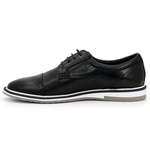 SAPATO SOCIAL POLO CITY OXFORD 140 PRETO