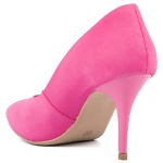 SCARPIN FACTOR FASHION SALTO MEDIO- NOBUCK PINK