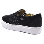 CASUAL FEMININO SHOES GRAND - SLIP ON 9600/2 PRETO
