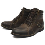 Bota Casual Masculina Shoes Grand 5600/1 Taupe