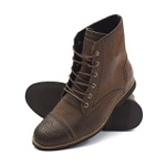 Bota Casual Masculina Shoes Grand 56160/5 nobuck Taupe