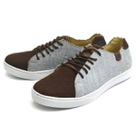Casual Masculino Shoes Grand 1150/1 Jeans Terra