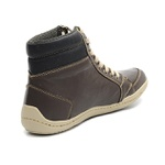 Bota Casual Masculina Shoes Grand 801/1 Café/ Preto