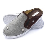 Mule Masculino Shoes Grand 165/7 Jeans Cinza