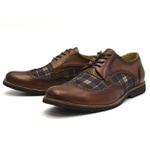 Sapato Social Oxford Shoes Grand 68142/1 Whisky