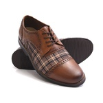 Sapato Social Oxford Shoes Grand 68151/1 Whisky
