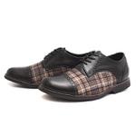 Sapato Social Oxford Shoes Grand 68151/2 Preto