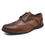 Sapato Social Oxford Shoes Grand 6900/1 Whisky