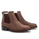 Botina Montaria Feminina Vimar Boots 12184 Bufallo Brown