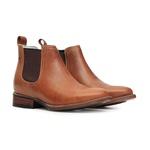 Botina Roper Leather Sole Vimar Boots 82200 Dallas Camel