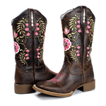 Bota Texana Feminina High Country 1558 Crazy Horse Café