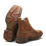 Workboot Escama Artesanal High Country 1708 Crazy Horse Castanho