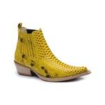 Bota Country Masculina Fidalgo 45000 Anaconda Amarelo