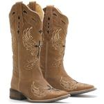 Bota Western Feminina Vimar Boots 1477 Dallas Bambú