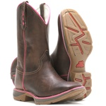 WorkBoot Farmer Feminino High Country 7500 Fossil Brown