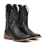 Western Boot TXS Vimar Boots 81115 Fossil Preto