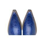 Bota Country Masculina Fidalgo 45000 Anaconda azul