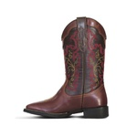 Bota Texana Feminina Fidalgo 24331 Pull-up Brown