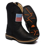 Workboot Black Steel High Country 1466 Crazy Horse Ônix