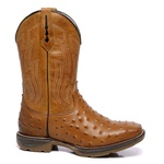 Workboot Ostrich High Country 1477 Avestruz Réplica Tan