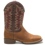 Bota Texana Masculina High Country 7823 Crazy Horse Camel