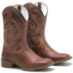 Bota Texana Masculina High Country 7739 Crazy Horse Castanho