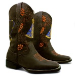 Bota Texana Feminina Fidalgo 24231 Crazy Horse Café