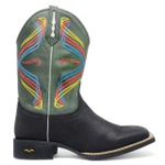 Bota Texana Masculina High Country 7785 Crazy Horse Preto