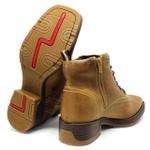 Coturno Western Vimar Boots + Chinelo Red Dead High Country