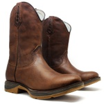 Workboot Robust High Country + Chinelo Red Dead High Country