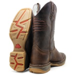 WorkBoot Wedge High Country 4787 Fóssil Brown