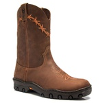 Workboot Pull-On Masculino Westcountry 85007 Crazy Oil Café