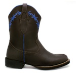 Bota Texana Feminina Fidalgo 24230 Crazy Horse Chocolate