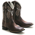 Bota Texana Marconi + Chinelo Red Dead High Country