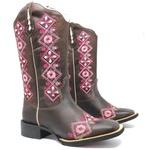 Bota Texana Feminina High Country 7944 Crazy Horse Café