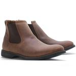 Botina Anatômica Vimar Boots 87001 Mustang Oil Sella