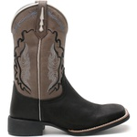 Bota Texana Mascuina High Country 7749 Crazy Horse Preto