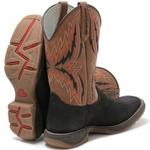 Bota Texana Masculina High Country 7725 Crazy Horse Preto