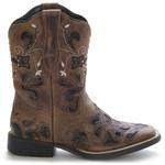 Bota Western Feminina Vimar Boots 13112 Dallas Bambú