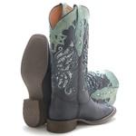 Bota Western Feminina Vimar Boots 13120 Dallas Preto
