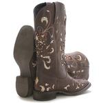 Bota Western Feminina Vimar Boots 13104 Dallas Castor