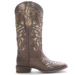Bota Western Feminina Vimar Boots 13120 Dallas Castor