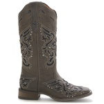 Bota Western Feminina Vimar Boots 13123 Dallas Brown